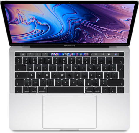 "Apple MacBook Pro 13"" (2019) Core™ i5 1,4 GHz 128 Go Argent - AZERTY (MUHQ2FN/A)"
