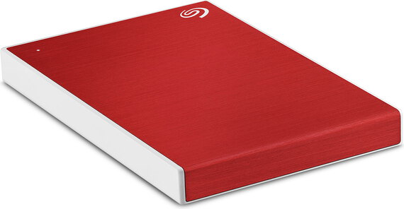 Seagate Backup Plus Slim USB 3.0 - 1 To - Rouge - STHN1000403