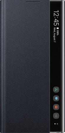 Samsung Clear View Cover pour Galaxy Note 10+ - Noir