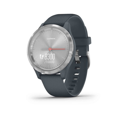 Garmin Vivomove 3S - Silver - Granite blue (39mm)