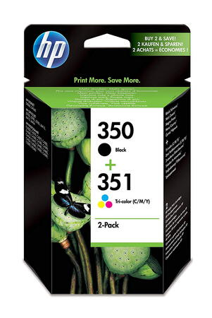 HP Pack de 2 cartouches HP 350/351 - SD412EE