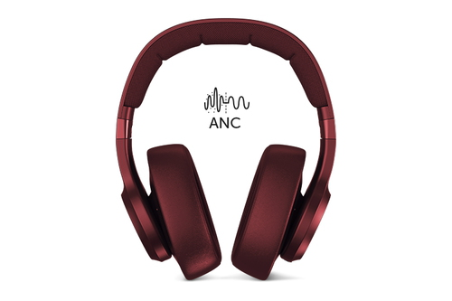 FRESH NREBEL Casque Clam ANC Rouge