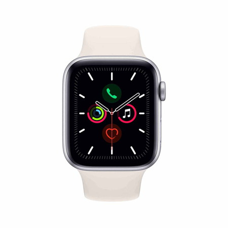 Apple Watch Series 5 - Silver - White (44mm)