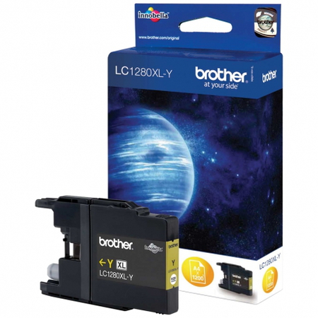 Brother Cartouche d'encre LC-1280Y LC - Jaune