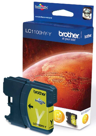 Brother Cartouche d'encre Jaune LC-1100HYY