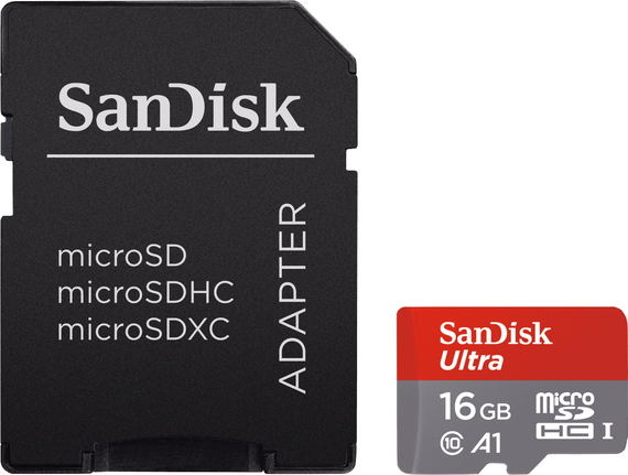 Sandisk Ultra® micro SDHC UHS-I Android™ - 16 Go