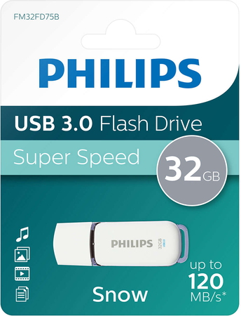 Philips Snow USB 3.0 FM32FD75B/10 - 32 Go