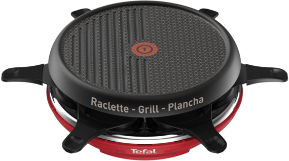 Tefal Raclette Colormania RE12A512 Rouge