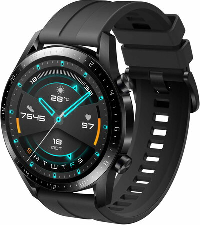 Huawei Watch GT2 - Édition Sport - Noir mat (46 mm)