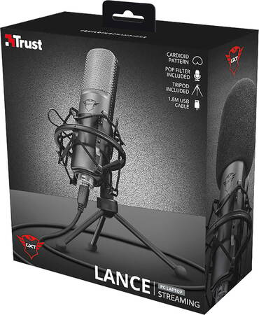 Trust Micro USB pour streaming Lance - GXT 242