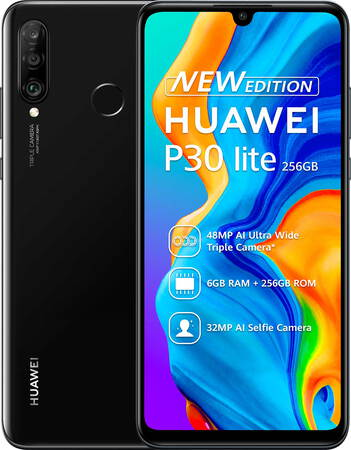 Huawei P30 Lite New Edition Midnight Black