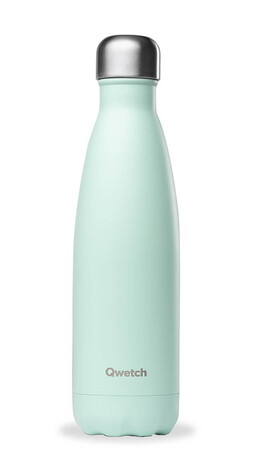 Qwetch Bouteille isotherme PastelGreen 50cl QD3102