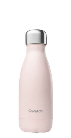 Qwetch Bouteille isotherme PastelPink 26cl QD3074