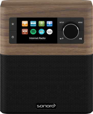 SONORO Stream SO-410 V2 Radio internet Walnut