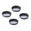 Point-Virgule 4 mini moules tarte-quiche - ⌀10 cm
