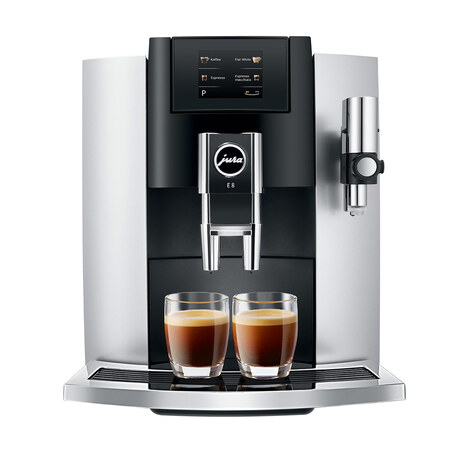 Jura Machine à Expresso automatique E8 Touch Platinum