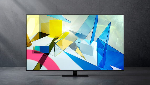 "Samsung QLED Ultra HD TV 4K 55"" QE55Q80T (2020)"