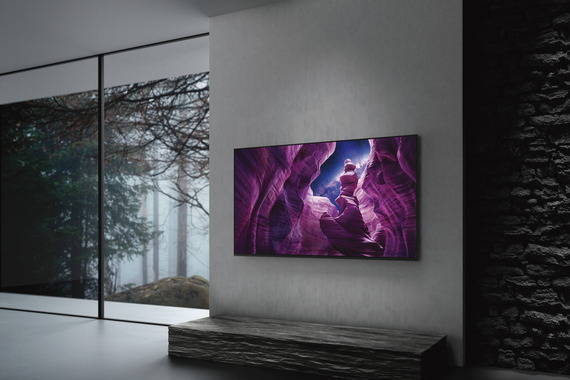 "Sony OLED Ultra HD TV 4K 55"" KD-55A8 (2020)"