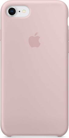 Apple Coque en silicone pour iPhone SE (2020) - Rose