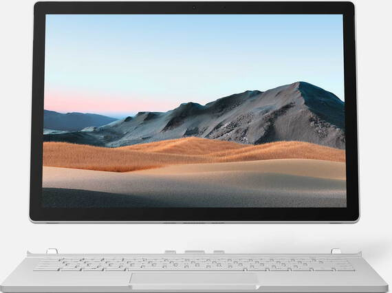 "Microsoft Surface Book 3 13,5"" Core™ i7 256 Go Platine AZERTY"
