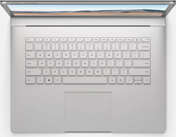 "Microsoft Surface Book 3 15"" Core™ i7 256 Go Platine AZERTY"