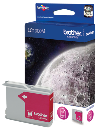 Brother Cartouche d'encre LC1000M Magenta