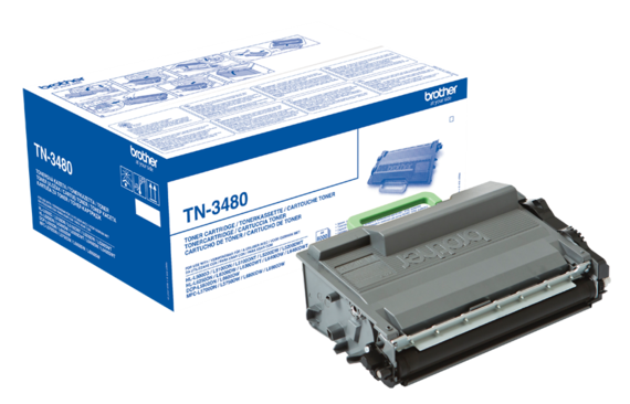 Brother Toner TN-3480 Noir