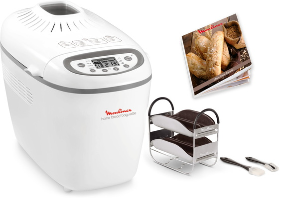 Moulinex Machine à pain Home Bread Baguettes OW610110