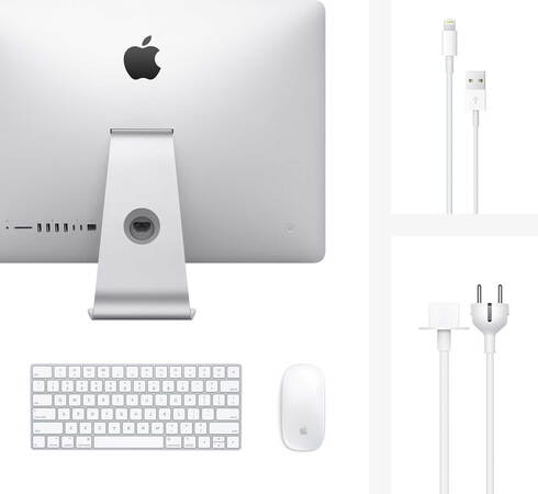 "Apple iMac 21,5"" Full HD Core™ i5 256 Go + clavier Qwertz"