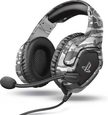 Trust GXT 488 Forze-G PS4 casque gaming - Gris
