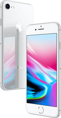 Apple iPhone 8 Argent - 64 Go - MQ6H2ZD/A