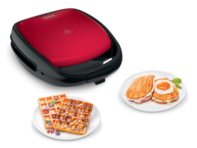 Tefal Snack Time Gaufrier/ Croque-monsieur SW341512