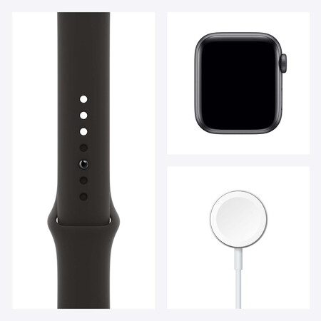 Apple Watch SE - Sideral Gray/Black 40mm