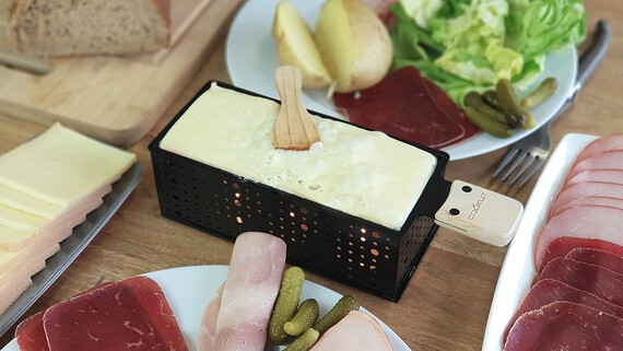 COOKUT Raclette à la bougie Duo LUMIDUO