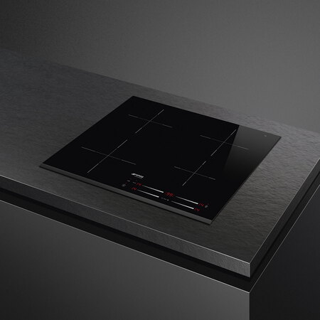 Smeg Taque à induction SI7643B