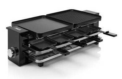 Princess Raclette & Grill Piano Black 8 162925