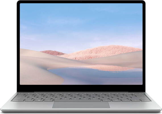 Microsoft Surface Laptop Go Core™ i5 128 Go Platine QWERTZ