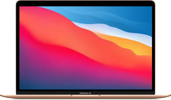 """Apple MacBook Air (2020) 13"""" puce M1 256 Go Or AZERTY"""