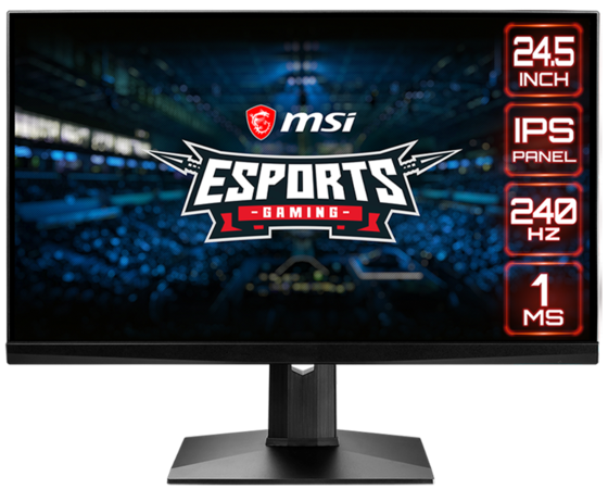 "MSI Moniteur gaming 24,5"" - Optix MAG251RX"