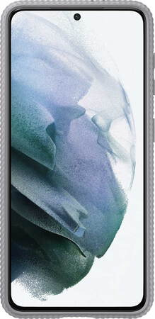 Samsung Protective Standing Cover pour Galaxy S21 5G - Gris
