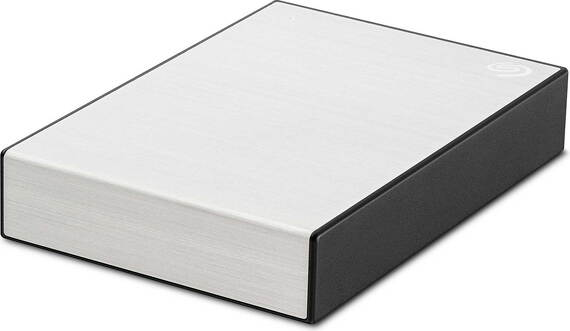 Seagate One Touch HDD - 4 To - Argent
