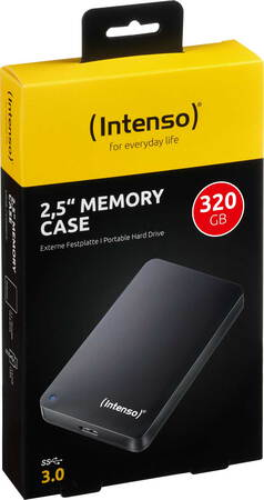 "Intenso 2,5"" Memory Case - 320 Go"