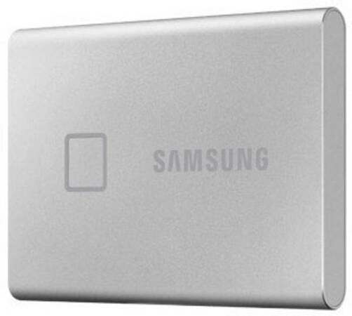 Samsung SSD externe T7 Touch USB 3.2 1To (Argent) - MU-PC1TOSK/WW