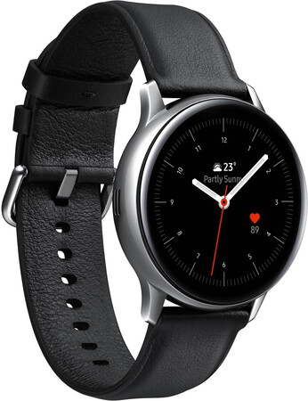 Samsung Galaxy Watch Active2 - 40mm Stainless Steel Silver