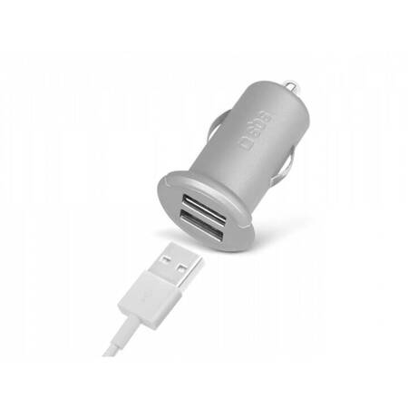 SBS Chargeur voiture 2400 mA TECAR2USB2AS