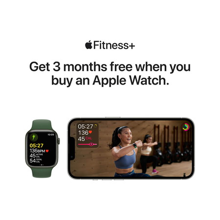 Apple Watch Series 7 LTE - Graphite Stainless Steel/Abyss Blue 45mm